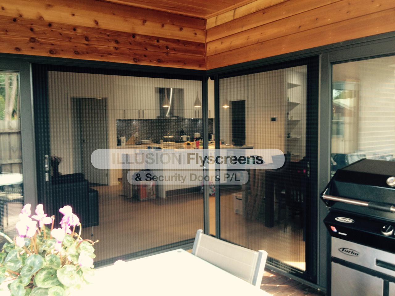 960 #793C21  Screen Gallery Illusion Flyscreens & Security Doors Pty Ltd image Titan Steel Doors 5931280